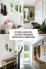 Modern Entryway 15 chic and eyecatchy modern entryway benches shelterness 6985 by guidejewelry.us