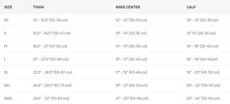 Donjoy Knee Brace Size Chart Donjoy Playmaker Ii Knee Brace Hinged Knee Support