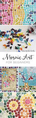 Simple Mosaic Art Designs Mosaic Art For Beginners The Craft Train