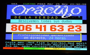 Spanish Tv Chanel Teletext Oracle At Cuatro Spanish Tv Channel Textmode Art In