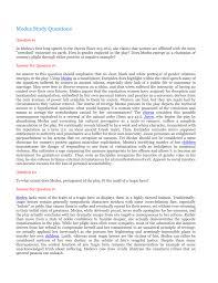 medea study questions
