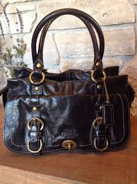 ... new zealand coach legacy in signature large coffee satchels acd coach  garcia black leather legacy brass ...