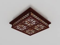chinese style lighting. Chinese Style Ceiling Light 3d Model Lighting I