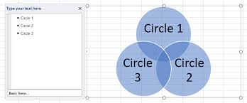 Accuracy And Precision Venn Diagram How To Make A Venn Diagram In Excel Lucidchart