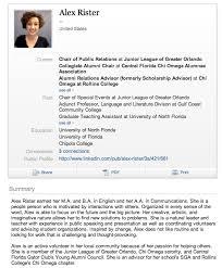 Resume And Linkedin Profile Writing