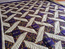 """A Very Feathery, """"Crown Royal"""" Quilt 