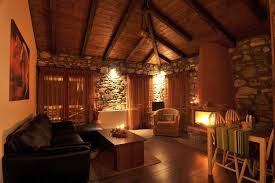 suite 50sqm two rooms with fireplace and jacuzzi pierion musses hotel palio elatochori hotels rooms accommodation guesthouses