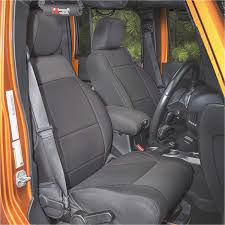 neoprene front seat covers black 11 16 jeep wrangler jk at get4x4parts for only