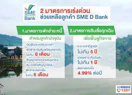 ธพว.ออก 2 มาตรการด่วนอุ้มเอสเอ็มอีประสบภัยพายุฮีโกส พักชำระหนี้ 6 เดือน  คู่เติมทุนดอกเบี้ยพิเศษ ช่วยฟื้นฟูธุรกิจ :: SME Development Bank