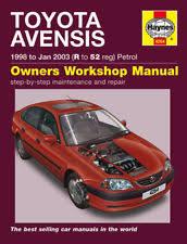 Buy Toyota Haynes 2003 Car Service & Repair Manuals   eBay