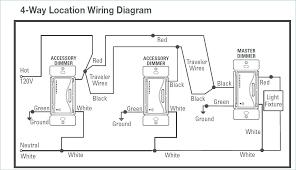 4 way dimmer switch three