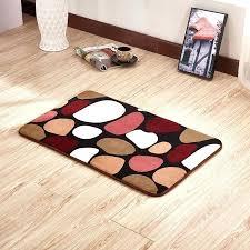 new modern multi color rugs for carpet bathroom colored bath striped mat