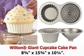 Wilton Giant Cupcake Cake Pan This Is Wiltons New Cupcake Flickr