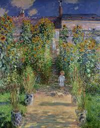claude monet garden. Fine Garden FileClaude Monet  Monetu0027s Garden At Vtheuil 1880jpg In Claude Garden