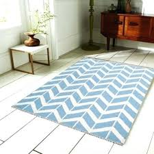 blue white chevron rug in and navy zigzag