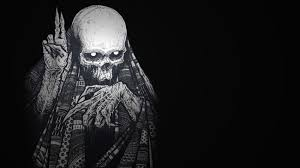 38 Hd Wallpaper Scary Skeleton Photos Scary Wallpapers Hd