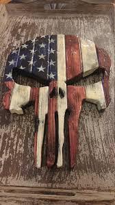 pin on burnt creek woodworks punisher skull