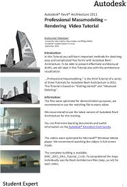 to be able to present effectively architectural drafts we will deal in this tutorial also