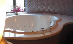 a bespoke luxury bath also incorporating a custom hydrotherapy system
