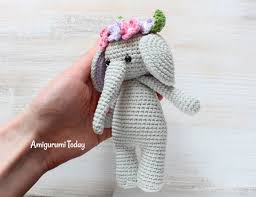 Crochet Stuffed Elephant Pattern Cool Inspiration