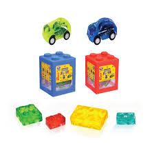 Kẹo dẻo đồ chơi xếp hình 4D hộp 40g Greenbox Online