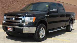 2013 Ford F-150 XLT 4WD - SuperCrew, Short Box, 5.0L V8, Running Boards