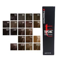 Goldwell Demi Permanent Hair Color Chart Details About Goldwell Topchic Permanent Hair Color Tubes