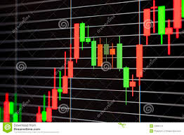 Foreign Exchange Chart Foreign Exchange Market Chart Stock Photo Image Of