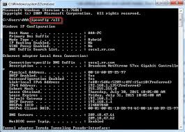 Ip Address And Subnet Mask Chart How To Locate Subnet Masks Ip Address Gateway And Dns