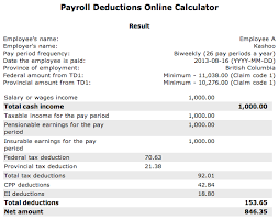 How Are Payroll Taxes Calculated Payroll Tax Deductions Calculator Under Fontanacountryinn Com