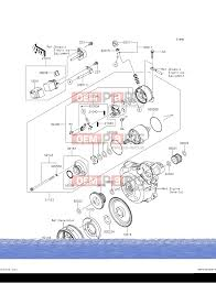 kawasaki klx 140 aff starter motor alkatrészek > oem parts hu kawasaki klx 140 aff starter motor