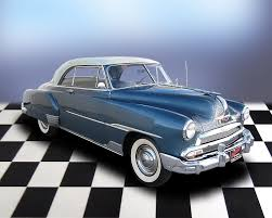 All Chevy 1951 chevy deluxe for sale : 1951 CHEVROLET DELUXE BEL AIR 2 DOOR HARDTOP - 71696
