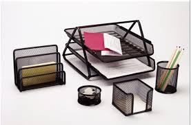 office desktop accessories.  Accessories Stationery SetDesk SetMesh Office SetDesktop Accessories In Desktop