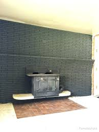 interior fireplace paint how to paint interior brick painted black brick fireplace paint interior brick or interior fireplace paint