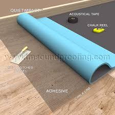carpet underlayment application