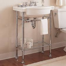 american standard console sink. Exellent Sink American Standard 0282008020 Retrospect Pedestal Console Sink Top With  8Inch Faucet Spacing White  Small Amazoncom Inside