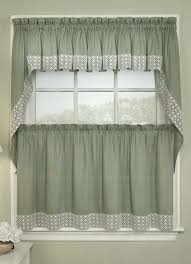 Swag Curtains For Kitchen