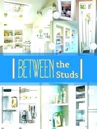 between the studs storage earring studs storage control bathroom clutter by building