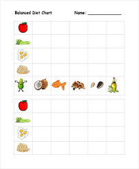 Free 7 Diet Chart Examples Samples In Pdf Examples