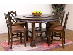 how to design dining room using astounding round dining table with lazy susan interactive dining