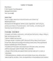 Download Cashier Resume Sample Mcs95 Com