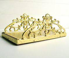 guest towel holder tray bathroom elegant stylebuilt towel holder gold metal goldplated by magiamia