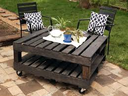 rustic wood patio furniture. Rustic Wood Outdoor Furniture Charming Fantastic Patio Tables Using Small Swivel Caster Timber Garden U