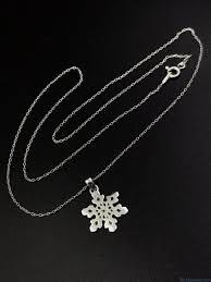 grandma snowflake necklace sterling silver grandmother mimi nana charm 925