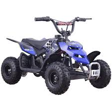 mototec mini monster v1 24v 250w electric powered mini atv quad