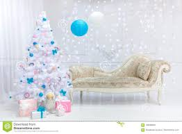 Light Pink And Blue Christmas Decorations Classic Christmas Light Interior In White Pink And Blue