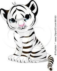 baby tiger drawing tattoo. Interesting Baby RoyaltyFree RF Clipart Illustration Of An Adorable Sitting Baby White  Tiger Cub On Drawing Tattoo O