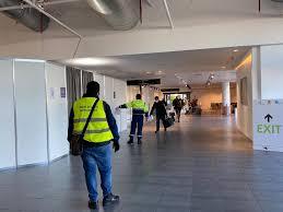 SAC: Al Terminal C proseguono i tamponi ai passeggeri in arrivo   Aeroporto  Internazionale di Catania
