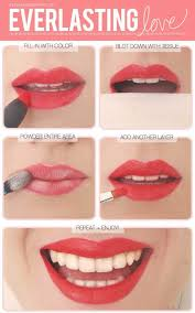 makeup tutorials for picture perfect selfies a great tip for lasting lip color tips