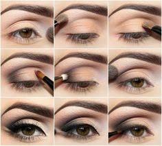 makeup tutorials for hazel eyes and blonde hair